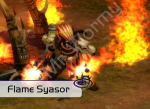 6th boss : Flame Syasor