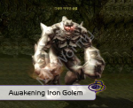 Mini boss : Awakening Iron Golem