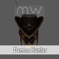 Demon Hunter Hat - Female