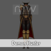 Demon Hunter Costume - Female