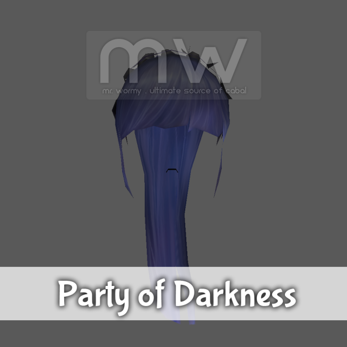 Party of Darkness Hair - Female