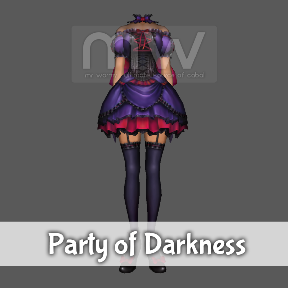 Party of Darkness Costume - Female