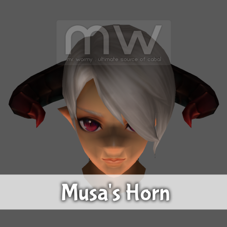 Musa's Horn - Male Only