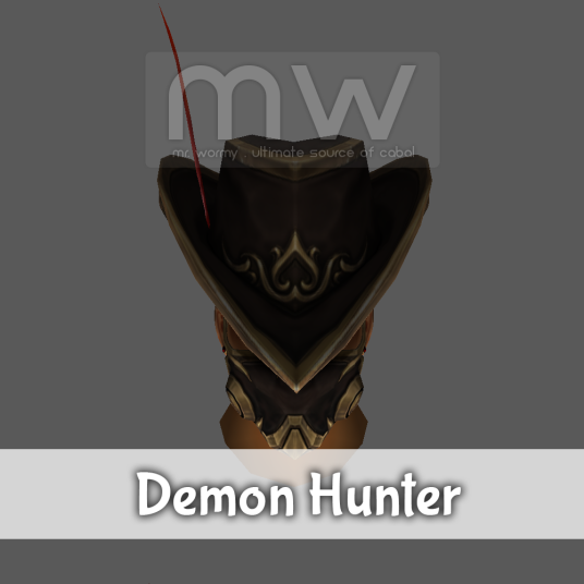 Demon Hunter Hat - Male