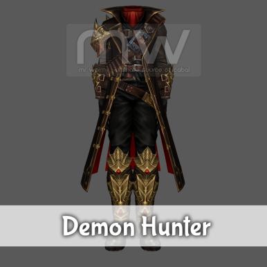 Demon Hunter Costume - Male