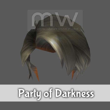 Party of Darkness Hair - Male