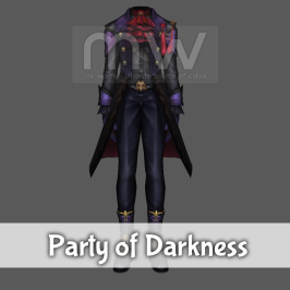 Party of Darkness Costume - Male