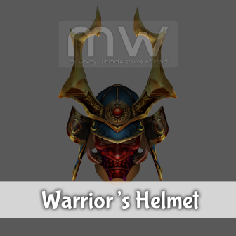 Warrior's Helmet / Helmet - Male