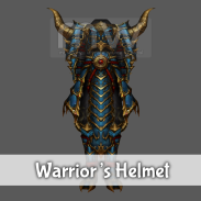Warrior's Helmet / Costume - Male
