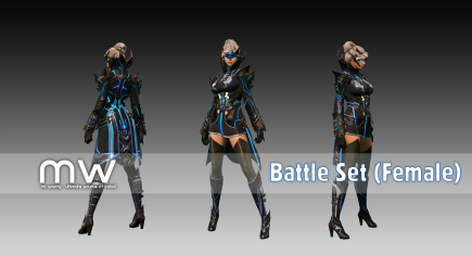 Battleset (FB/FA/FG) - Female