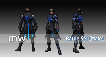 Battleset (FB/FA/FG) - Male