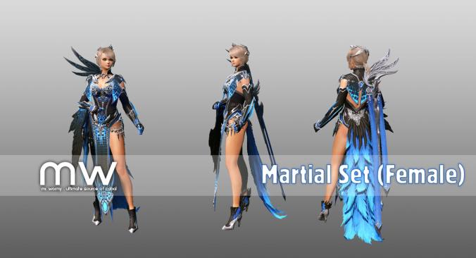 Martialset (WI/BL) - Female
