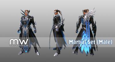 Martialset (WI/BL) - Male