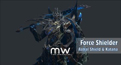 Astral Shield & Katana
