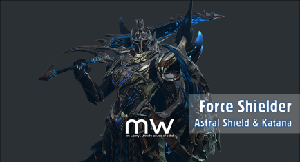 Astral Shield & Katana
