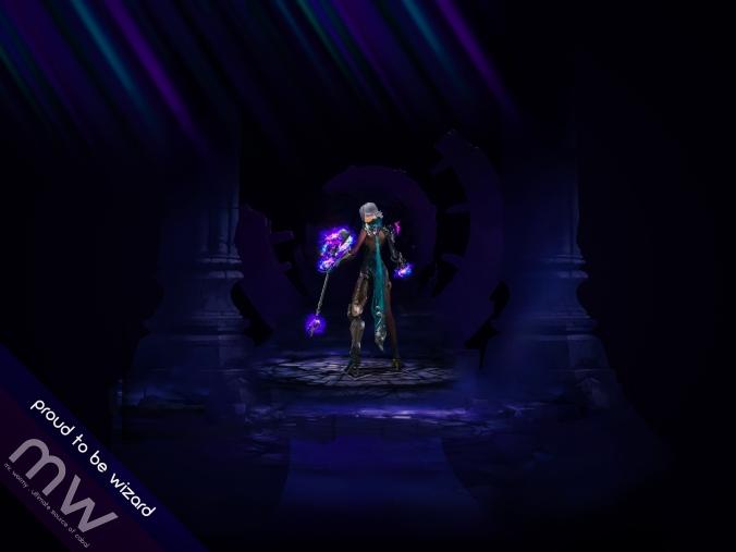 Mr. Wormy - Wallpaper Demonite - Wizard